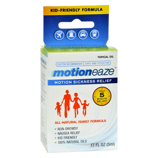 Motioneaze Motion Sickness Relief - Case Of 6 - 5 Ml-Eco-Friendly Home & Grocery-Motioneaze-EpicWorldStore.com