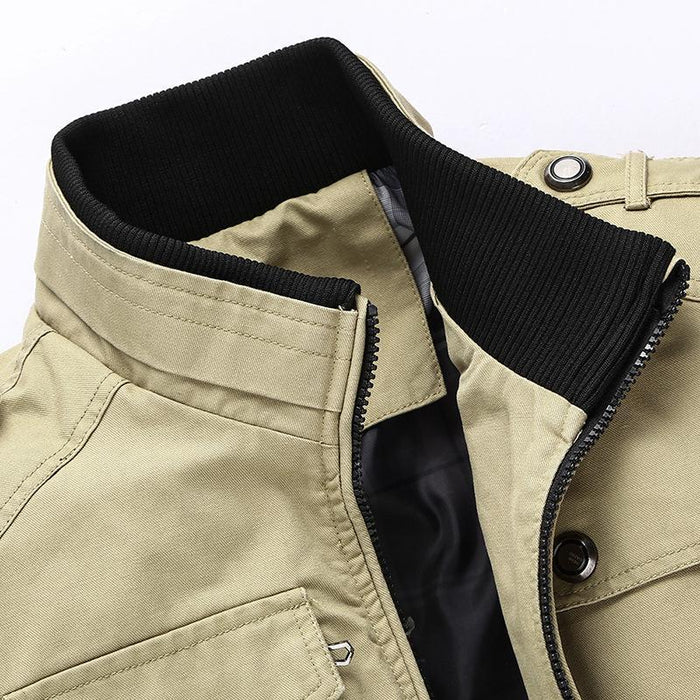 4a84ec98a09 Mountainskin Casual Mens Jacket Spring Army Military Jacket Men Coats  Winter Male Outerwear-Jackets &