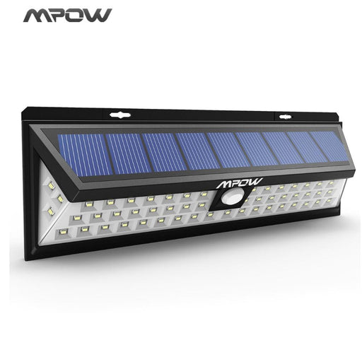 Mpow 54 Led Night Light Ip65 Waterproof Solar Lights Wide Angle Led Solar Powered Lamp Outdoor-Patozon Light Store-EpicWorldStore.com