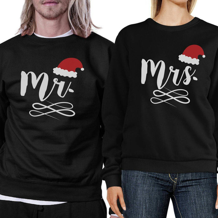 4242c751 Mr And Mrs Christmas Couple Sweatshirts Holiday Gifts For Couples-Apparel &  Accessories-365