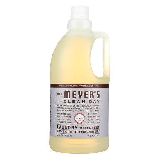 Mrs. Meyer'S Clean Day - 2X Laundry Detergent - Lavender - 64 Oz-Eco-Friendly Home & Grocery-Mrs. Meyer's-EpicWorldStore.com