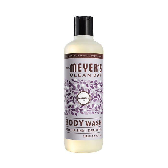 Mrs. Meyer'S Clean Day - Body Wash - Lavender - Case Of 6 - 16 Fl Oz-Eco-Friendly Home & Grocery-Mrs. Meyer's-EpicWorldStore.com