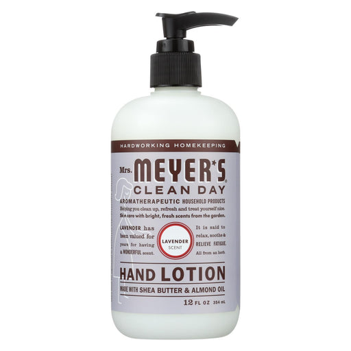 Mrs. Meyer'S Clean Day - Hand Lotion - Lavender - Case Of 6 - 12 Fl Oz-Eco-Friendly Home & Grocery-Mrs. Meyer's-EpicWorldStore.com