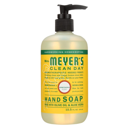 Mrs. Meyer'S Clean Day - Liquid Hand Soap - Honeysuckle - Case Of 6 - 12.5 Oz-Eco-Friendly Home & Grocery-Mrs. Meyer's-EpicWorldStore.com