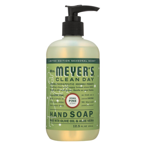 Mrs. Meyer'S Clean Day - Liquid Hand Soap - Iowa Pine - Case Of 6 - 12.5 Fl Oz.-Eco-Friendly Home & Grocery-Mrs. Meyer's-EpicWorldStore.com