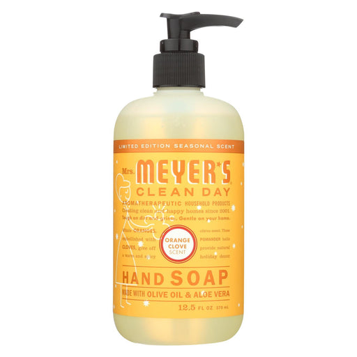 Mrs. Meyer'S Clean Day - Liquid Hand Soap - Orange Clove - Case Of 6 - 12.5 Fl Oz.-Eco-Friendly Home & Grocery-Mrs. Meyer's-EpicWorldStore.com
