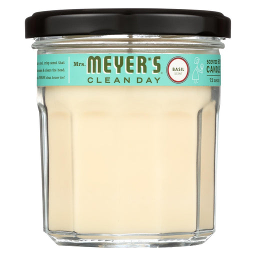Mrs. Meyer'S Clean Day - Soy Candle - Basil - 7.2 Oz - Case Of 6-Eco-Friendly Home & Grocery-Mrs. Meyer's-EpicWorldStore.com