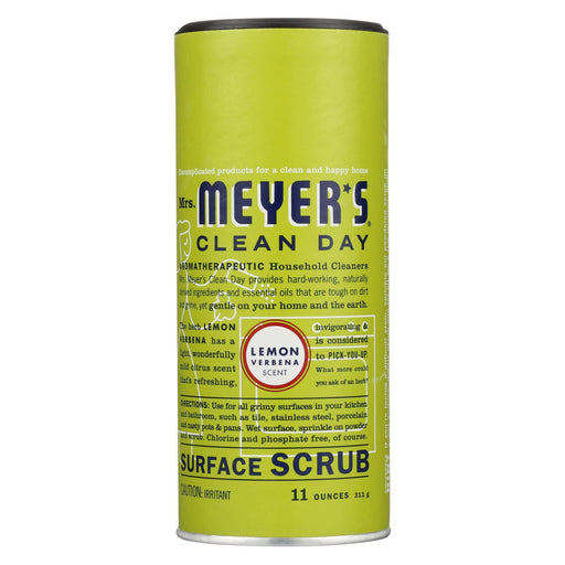 Mrs. Meyer'S Clean Day - Surface Scrub - Lemon Verbena - Case Of 6 - 11 Oz-Eco-Friendly Home & Grocery-Mrs. Meyer's-EpicWorldStore.com