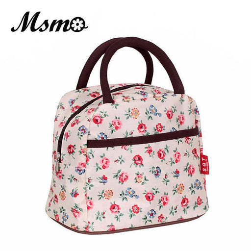 Msmo New Hot Variety Pattern Lunch Bag Lunchbox Women Handbag Waterproof Picnic Bag Lunchbox-Functional Bags-MSMO Store-1-EpicWorldStore.com