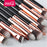 Msq 12Pcs Eyeshadow Makeup Brushes Set Pro Rose Gold Eye Shadow Blending Make Up Brushes Soft-Makeup-MSQ Official Store-STB12rg-EpicWorldStore.com