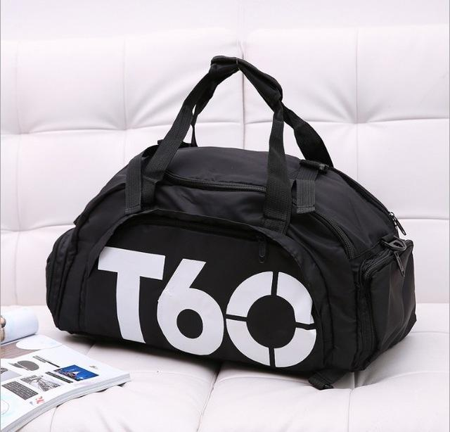 73163e82a0 Multi-Use Portable Shoulder Sports Bag Gym Backpack Separated Shoes Storage  Fitness Bags Men Women