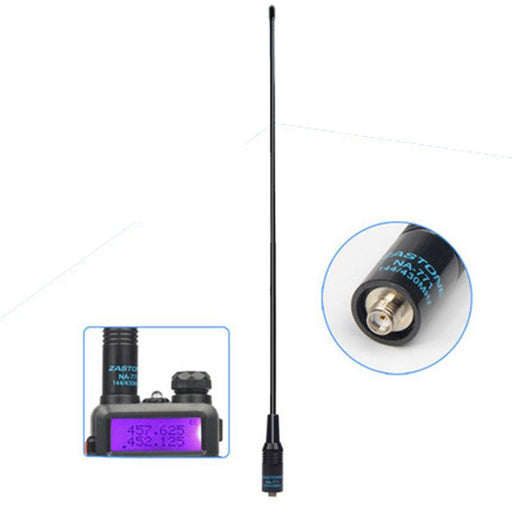 Nagoya Na-771 Antenna 144/430Mhz Walkie Talkie Baofeng Antenna Vhf/Uhf Sma-Female For Handheld Radio-Communication Equipments-Phone LCD Manufacturer Store-EpicWorldStore.com