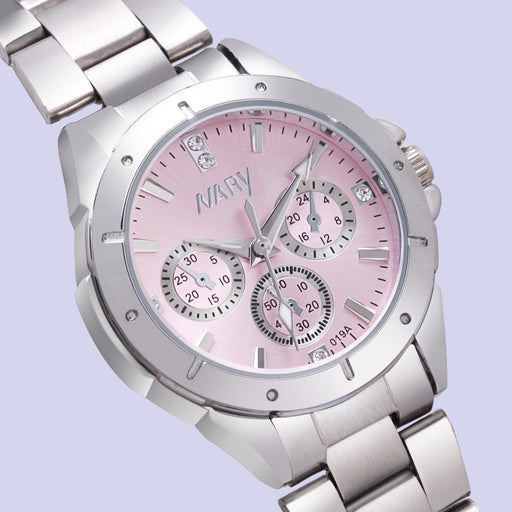 Nary Watch Women Luxury Watch Reloj Mujer Stainless Steel Quality Diamond Ladies Quartz-Women's Watches-Future Watch Store-pink-EpicWorldStore.com