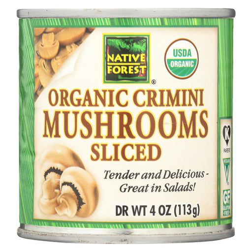 Native Forest Mushrooms - Organic - Crimini - Sliced - 4 Oz - Case Of 12-Eco-Friendly Home & Grocery-Native Forest-EpicWorldStore.com