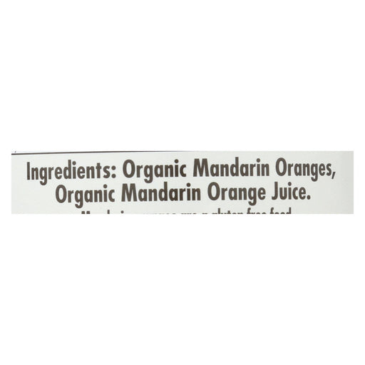 Native Forest Organic Mandarin - Oranges - Case Of 6 - 10.75 Oz.-Eco-Friendly Home & Grocery-Native Forest-EpicWorldStore.com
