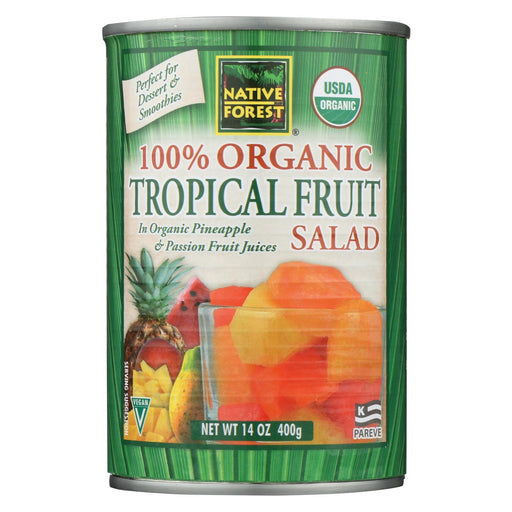 Native Forest Tropical Fruit Salad - Case Of 6 - 14 Oz.-Eco-Friendly Home & Grocery-Native Forest-EpicWorldStore.com