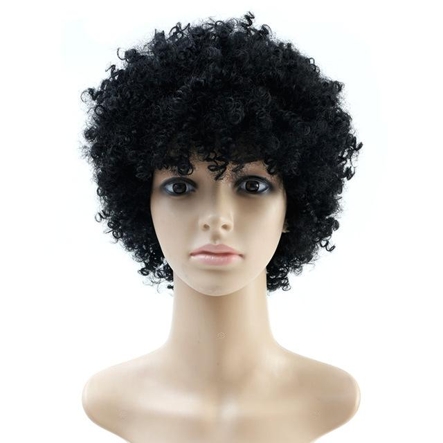 Natural Afro Wig Kinky Curly Wigs For Women