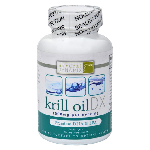 Natural Dynamix Krill Oil Dx - 60 Softgels-Eco-Friendly Home & Grocery-Natural Dynamix-EpicWorldStore.com