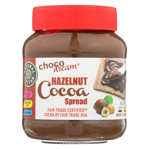 Natural Nectar Natural With Hazelnut Spread - Chocolate - Case Of 6 - 12.3 Oz.-Eco-Friendly Home & Grocery-Natural Nectar-EpicWorldStore.com