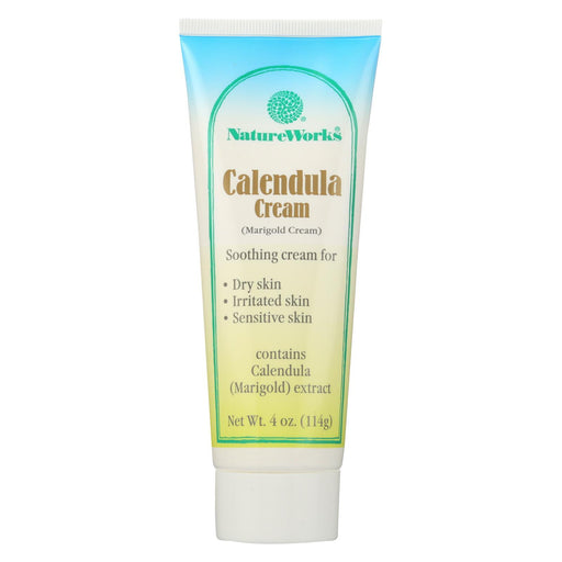 Nature Works Calendula Cream - 4 Oz-Eco-Friendly Home & Grocery-Nature Works-EpicWorldStore.com