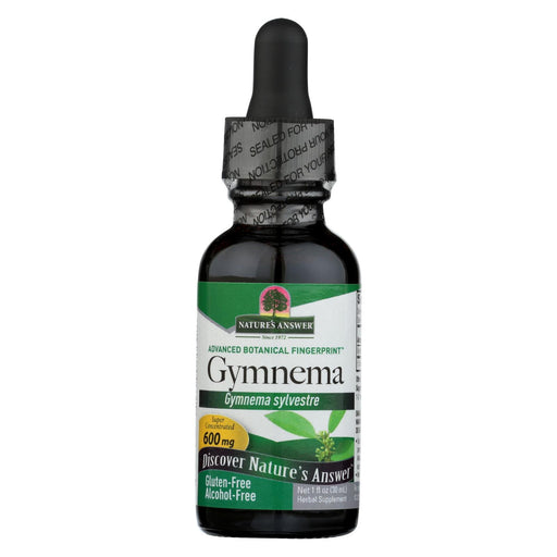 Nature'S Answer - Gymnema Leaf Alcohol Free - 1 Fl Oz-Eco-Friendly Home & Grocery-Nature's Answer-EpicWorldStore.com