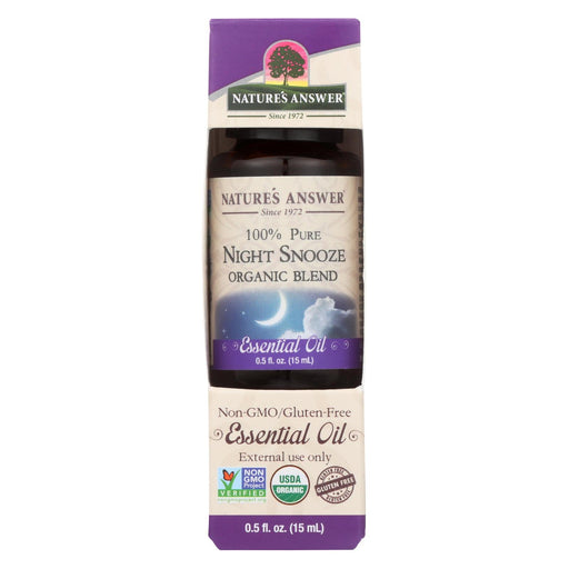 Nature'S Answer - Organic Essential Oil Blend - Night Snooze - 0.5 Oz.-Eco-Friendly Home & Grocery-Nature's Answer-EpicWorldStore.com