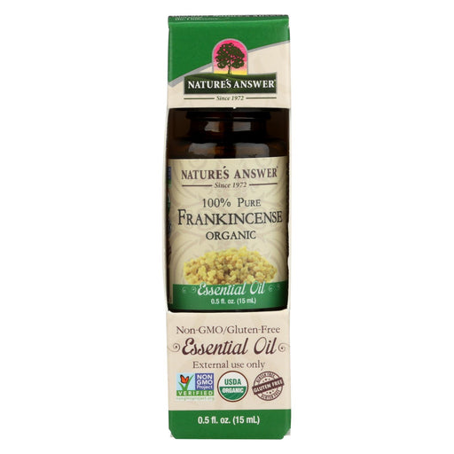 Nature'S Answer - Organic Essential Oil - Frankincense - 0.5 Oz.-Eco-Friendly Home & Grocery-Nature's Answer-EpicWorldStore.com