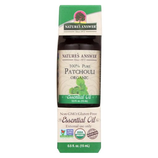 Nature'S Answer - Organic Essential Oil - Patchouli - 0.5 Oz.-Eco-Friendly Home & Grocery-Nature's Answer-EpicWorldStore.com