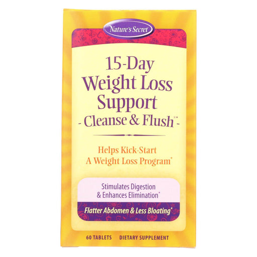 Nature'S Secret 15 Day Diet And Cleansing Plan - 60 Tablets-Eco-Friendly Home & Grocery-Nature's Secret-EpicWorldStore.com
