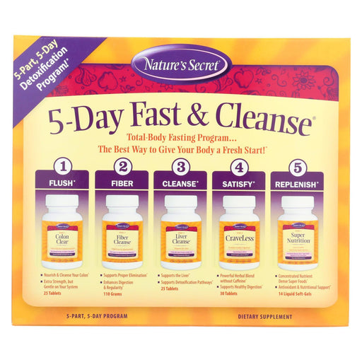 Nature'S Secret Ultimate Fasting Cleanse - 1 Kit-Eco-Friendly Home & Grocery-Nature's Secret-EpicWorldStore.com