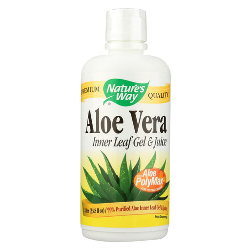 Nature'S Way - Aloe Vera Gel And Juice - 33.8 Fl Oz-Eco-Friendly Home & Grocery-Nature's Way-EpicWorldStore.com