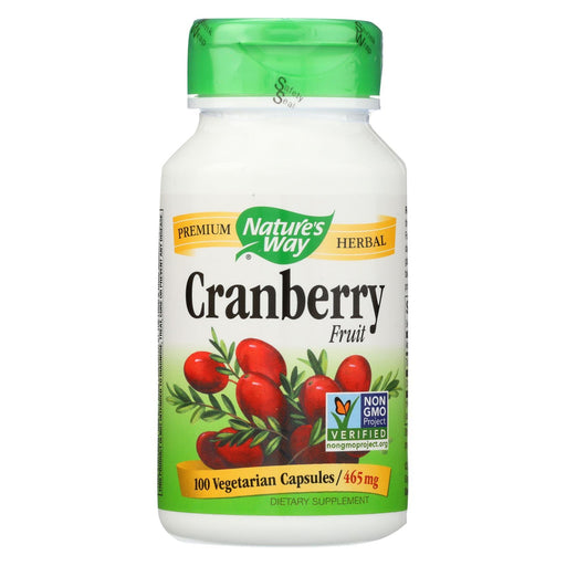 Nature'S Way - Cranberry Fruit - 100 Capsules-Eco-Friendly Home & Grocery-Nature's Way-EpicWorldStore.com