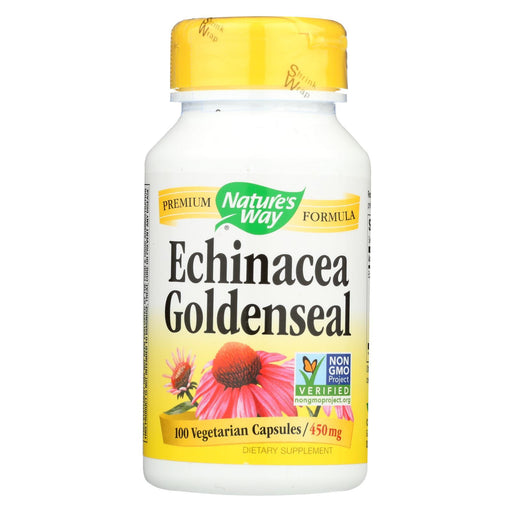 Nature'S Way - Echinacea Goldenseal - 100 Capsules-Eco-Friendly Home & Grocery-Nature's Way-EpicWorldStore.com