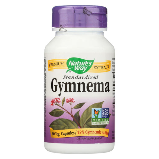 Nature'S Way - Gymnema Standardized - 60 Capsules-Eco-Friendly Home & Grocery-Nature's Way-EpicWorldStore.com