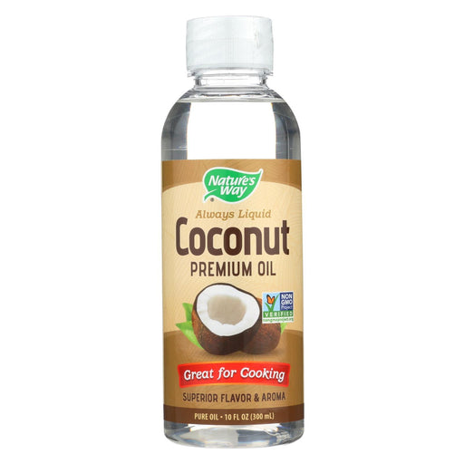 Nature'S Way - Liquid Coconut Oil - 10 Oz-Eco-Friendly Home & Grocery-Nature's Way-EpicWorldStore.com