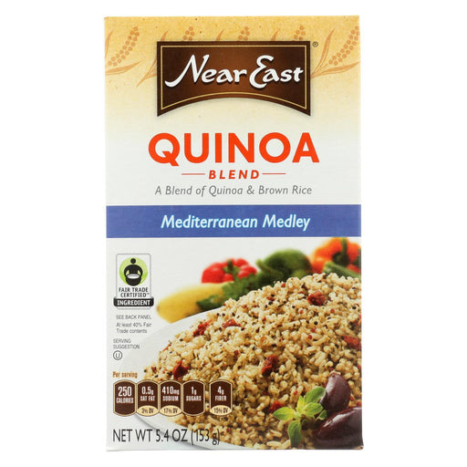 Near East Quinoa Blend - Mediterranean Medley - 5.4 Oz - Case Of 12-Eco-Friendly Home & Grocery-Near East-EpicWorldStore.com