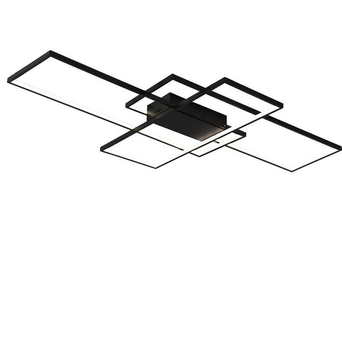 Neo Gleam Rectangle Aluminum Modern Led Ceiling Lights For Living