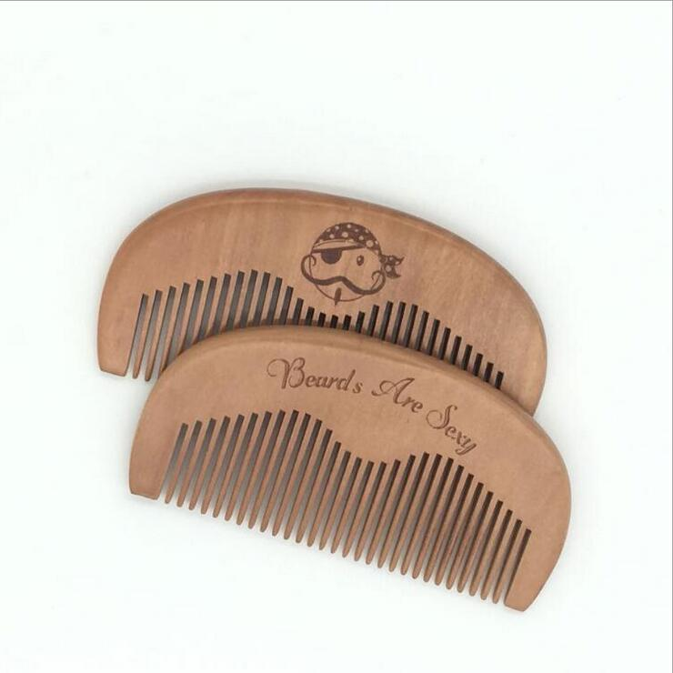 New 1 Pcs Pocket Wooden Comb Super Wood Combs No Static Beard Comb Hair Styling Tool-Hair Care & Styling-Sexy eyelash Store-A-EpicWorldStore.com