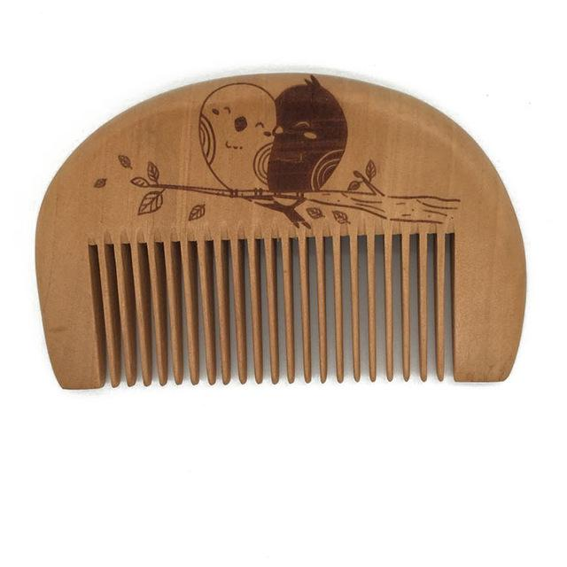 New 1 Pcs Pocket Wooden Comb Super Wood Combs No Static Beard Comb Hair Styling Tool-Hair Care & Styling-Sexy eyelash Store-B-EpicWorldStore.com