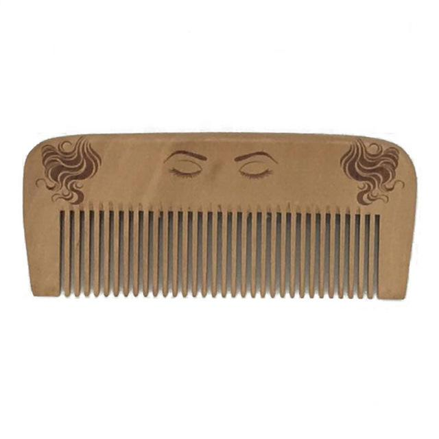 New 1 Pcs Pocket Wooden Comb Super Wood Combs No Static Beard Comb Hair Styling Tool-Hair Care & Styling-Sexy eyelash Store-C-EpicWorldStore.com
