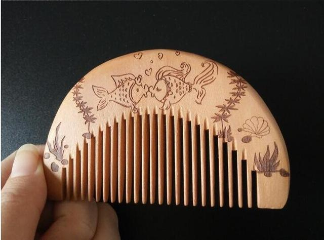 New 1 Pcs Pocket Wooden Comb Super Wood Combs No Static Beard Comb Hair Styling Tool-Hair Care & Styling-Sexy eyelash Store-D-EpicWorldStore.com