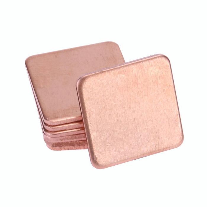 New 10Pcs Thermal Pad Barrier Pure Copper Heatsink Shim For Laptop Gpu Vag Pad 20Mmx20Mm 0.3Mm 0.5Mm-Computer Components-unitednewfrog-05MM Thickness-EpicWorldStore.com