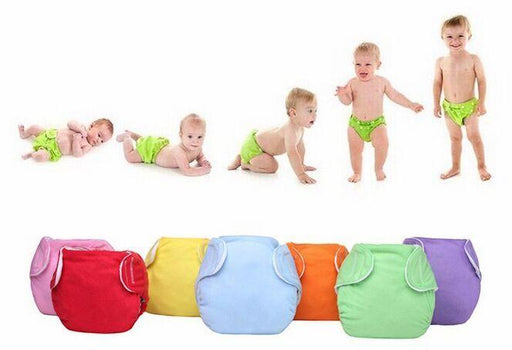 New 10Pcs/Lot Baby Diapers/Reusable Nappies/Adjustable Diaper Cover/Washable/For Winter Trx0019-Toilet Training-Ningbo Chenfa trade co., LTD-EpicWorldStore.com