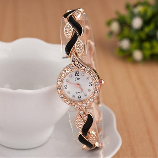 New Brand Jw Bracelet Watches Women Luxury Crystal Dress Wristwatches Clock  Womens-Women s Bracelet Watches 76f7ada347a9