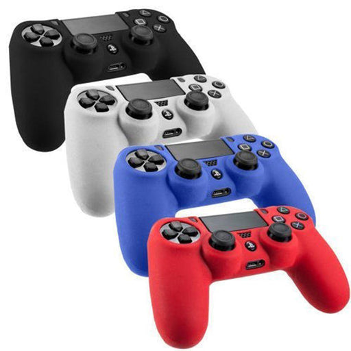 New Colorful Useful Soft Silicone Case Shell Skin Accessories For Ps4 Playstation 4-Computer Cleaners-Fabulous Excllent Articles Store-White-EpicWorldStore.com