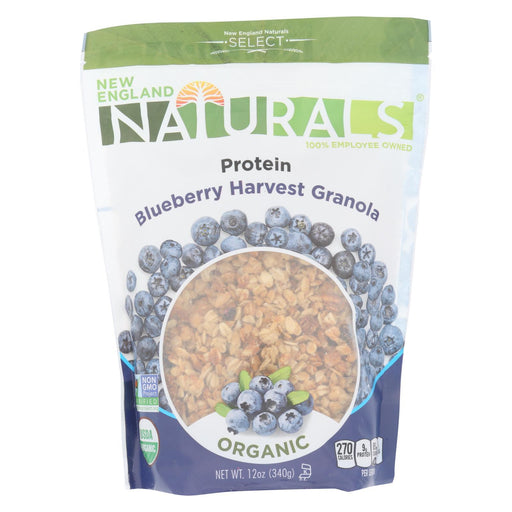 New England Naturals Granola High Protein - Blueberry Harvest - Case Of 6 - 12 Oz.-Eco-Friendly Home & Grocery-New England Naturals-EpicWorldStore.com