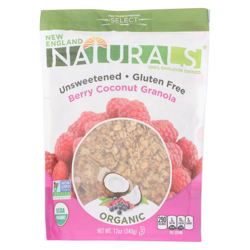 New England Naturals Organic Granola Select Berry - Coconut - Case Of 6 - 12 Oz.-Eco-Friendly Home & Grocery-New England Naturals-EpicWorldStore.com