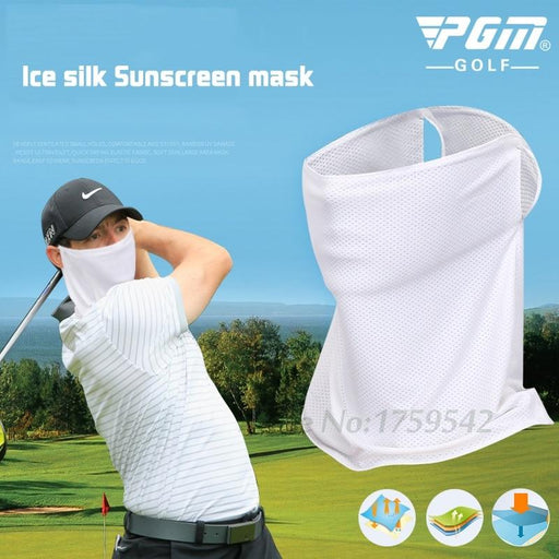 New Golf Sunscreen Collar Ice Stretch Breathable Golf Sunscreen Masks-Golf Caps-China Leisure Sports stores-White-EpicWorldStore.com