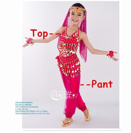 6af513b6d New Handmade Children Belly Dance Costume Set Kids Belly Dancing ...