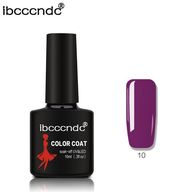 New Ibcccndc 80 Colors 10Ml Uv Led Soak-Off Gel Nail Polish Nail Art Semi Permanent Gel Varnishes-Nails & Tools-ibcccndc Official Store-10-EpicWorldStore.com